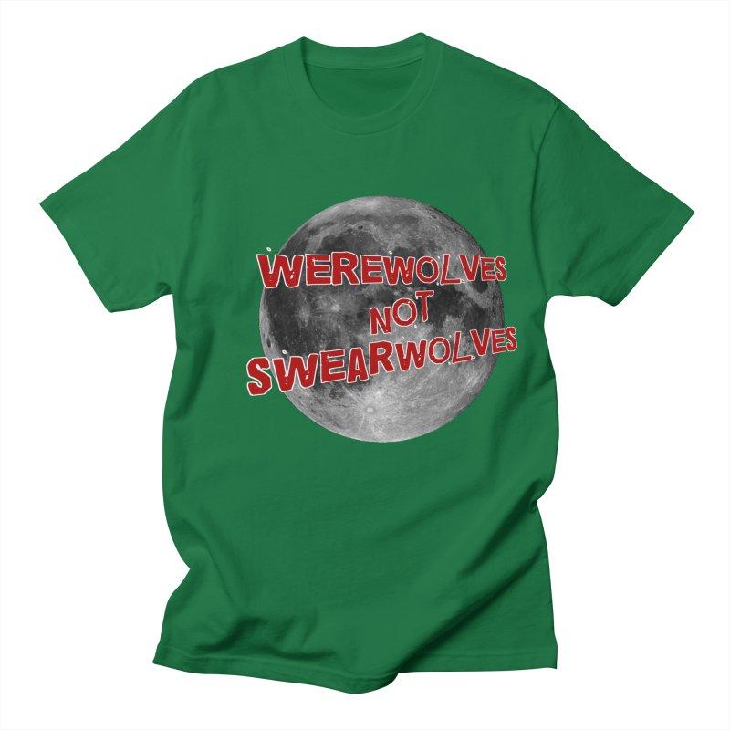 Werewolves not Swearwolves Men's T-shirt by Loganferret's Artist Shop
