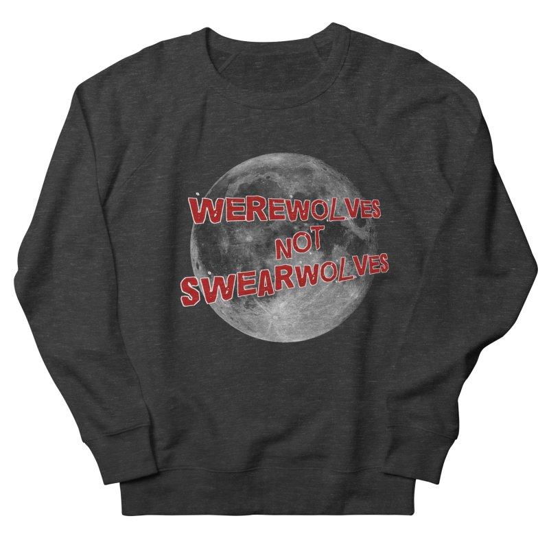 Werewolves not Swearwolves Men's French Terry Sweatshirt by Loganferret's Artist Shop
