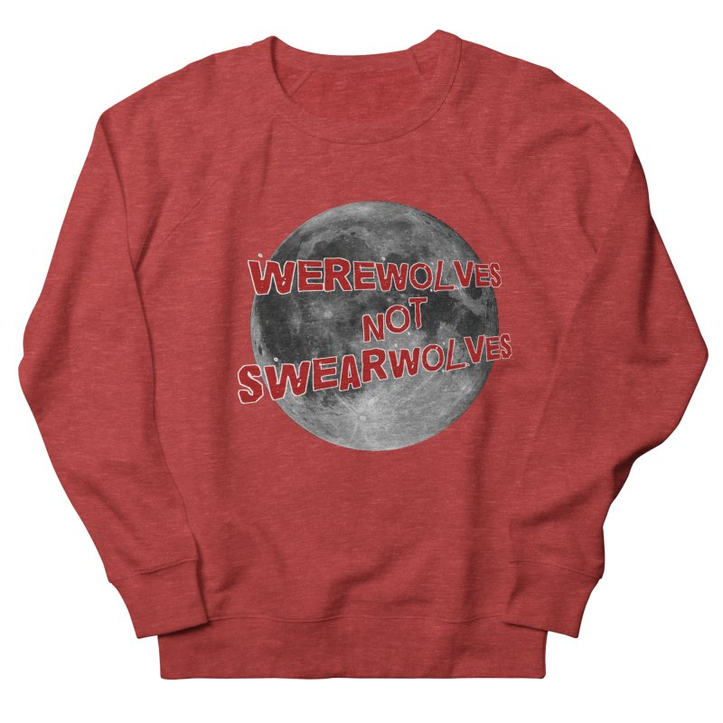 Werewolves not Swearwolves Men's Sweatshirt by Loganferret's Artist Shop