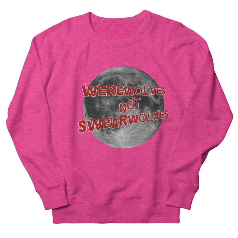 Werewolves not Swearwolves Men's Sweatshirt by Loganferret's Artist Shop