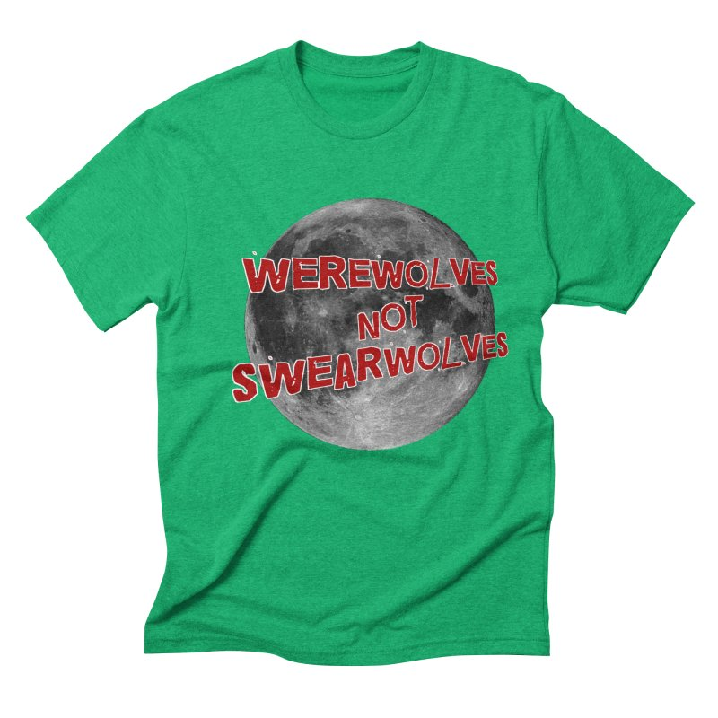 Werewolves not Swearwolves Men's Triblend T-Shirt by Loganferret's Artist Shop