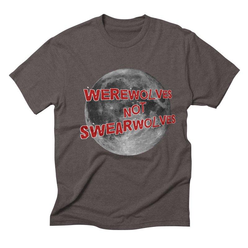 Werewolves not Swearwolves Men's Triblend T-shirt by Loganferret's Artist Shop