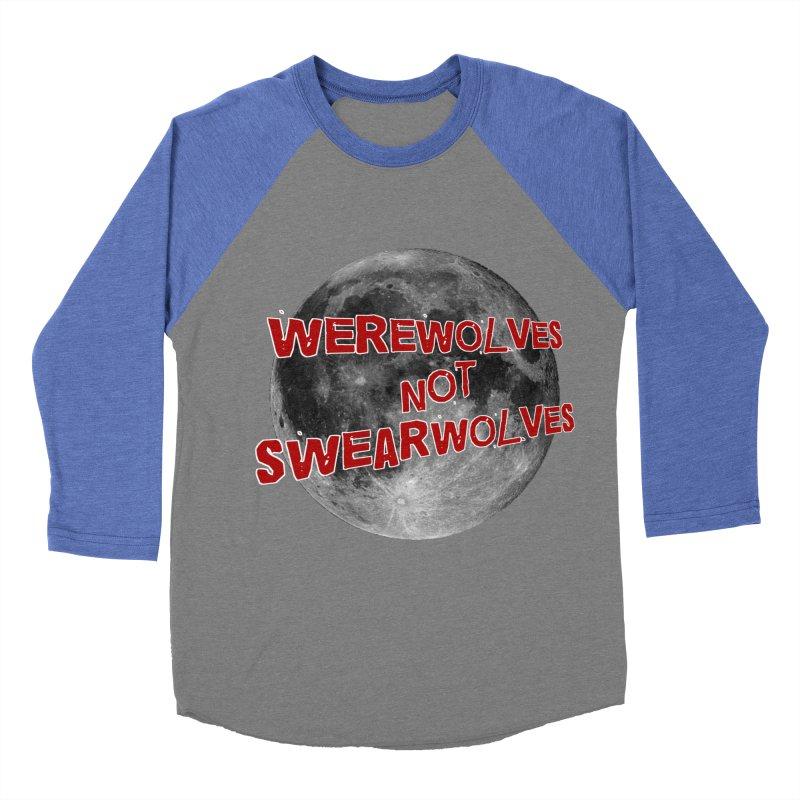 Werewolves not Swearwolves Women's Baseball Triblend T-Shirt by Loganferret's Artist Shop