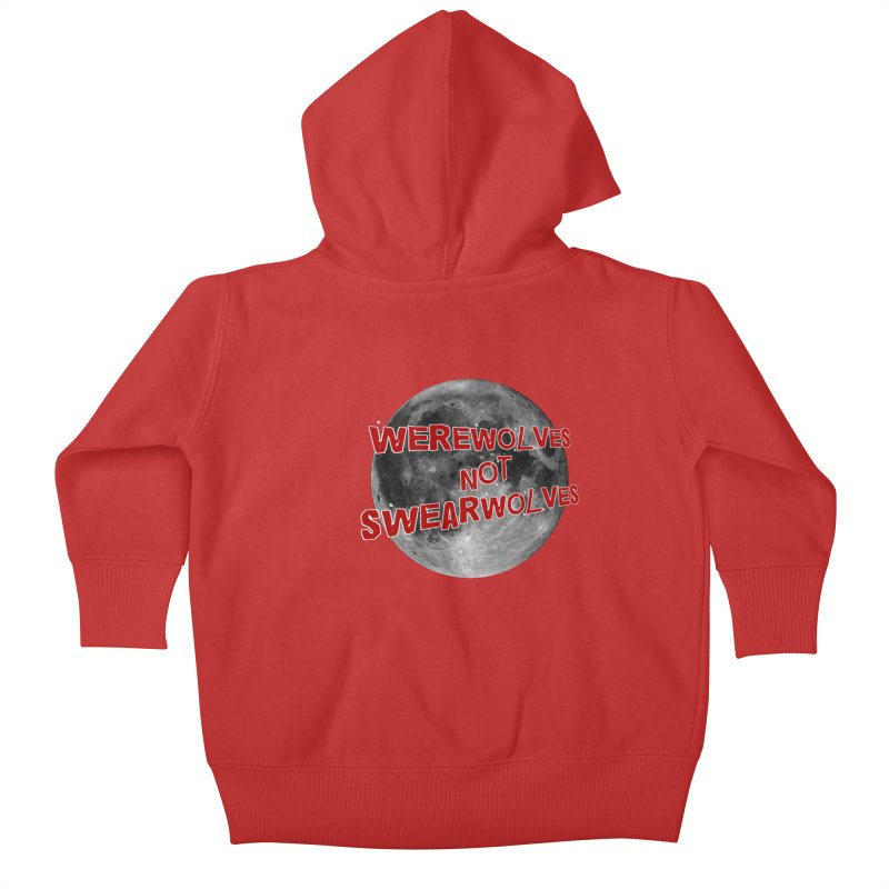 Werewolves not Swearwolves Kids Baby Zip-Up Hoody by Loganferret's Artist Shop