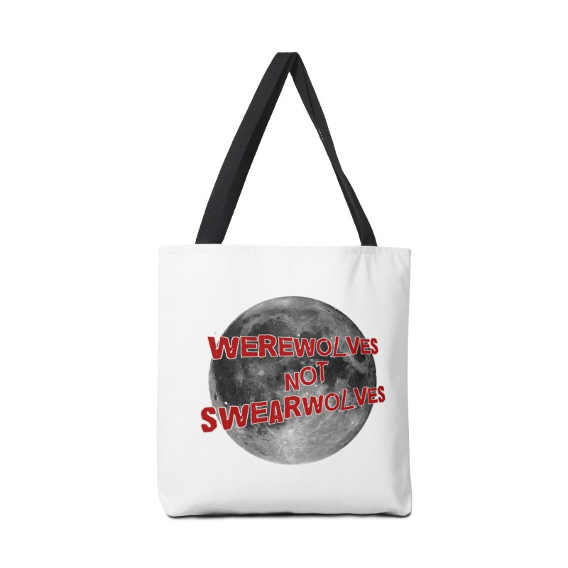 Werewolves not Swearwolves Accessories Bag by Loganferret's Artist Shop