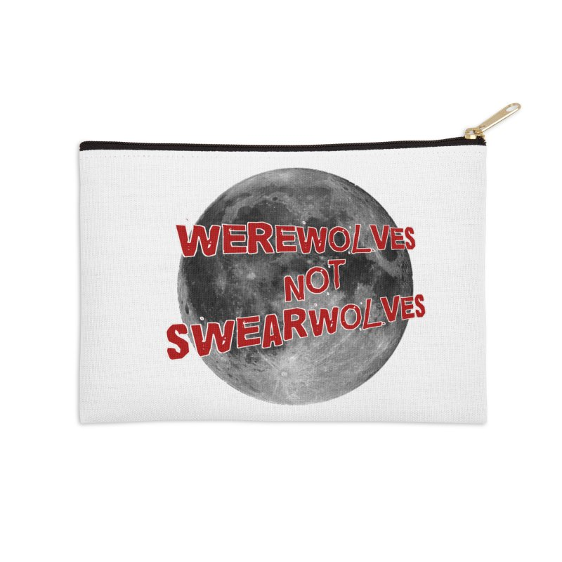 Werewolves not Swearwolves Accessories Zip Pouch by Loganferret's Artist Shop