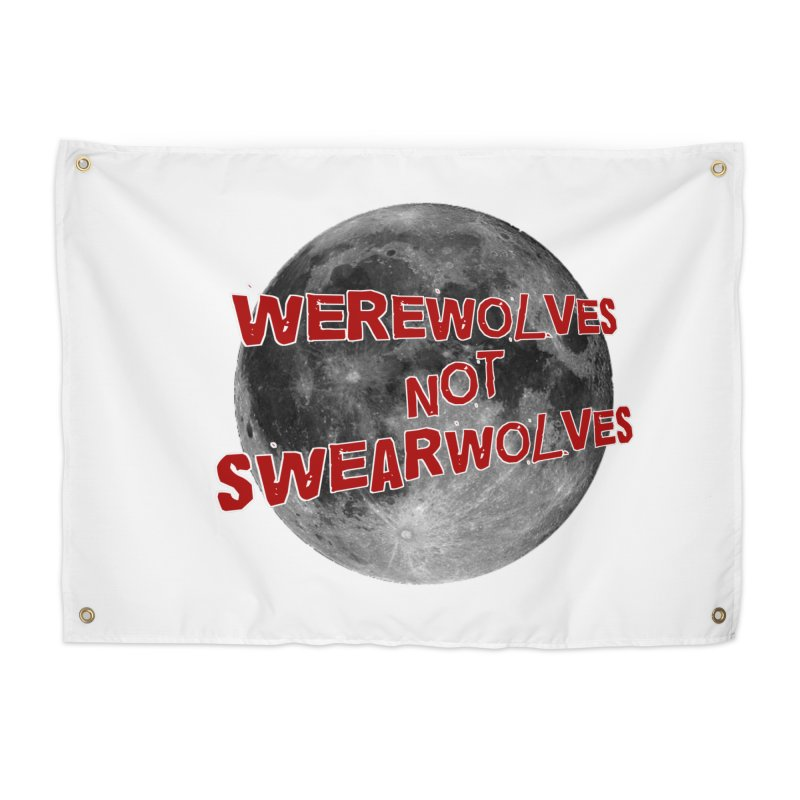 Werewolves not Swearwolves Home Tapestry by Loganferret's Artist Shop