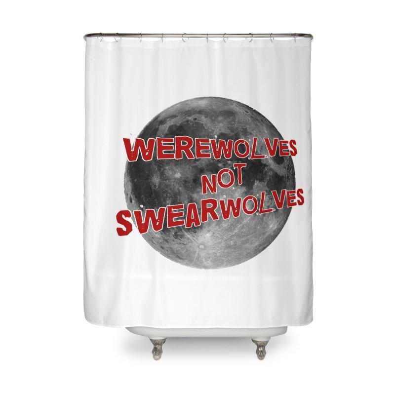Werewolves not Swearwolves Home Shower Curtain by Loganferret's Artist Shop