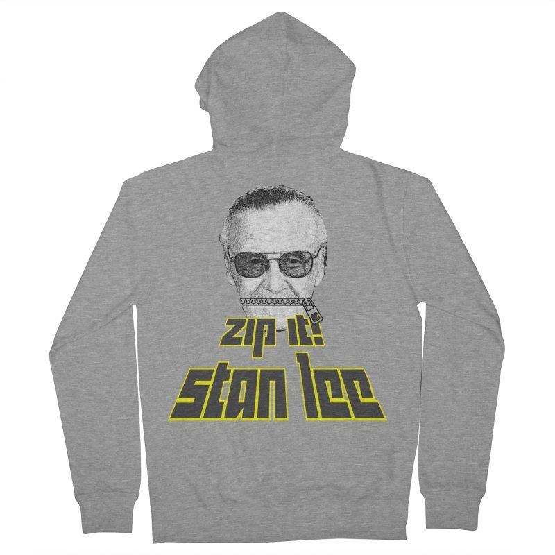 Zip it Stan Lee Men's Zip-Up Hoody by Loganferret's Artist Shop