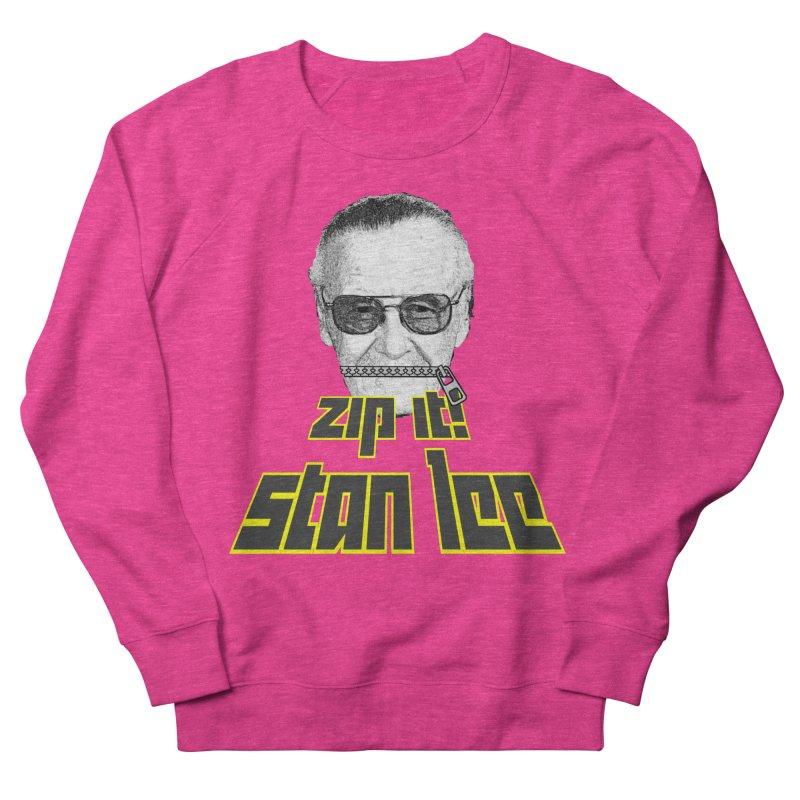 Zip it Stan Lee Men's Sweatshirt by Loganferret's Artist Shop