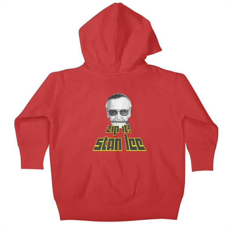 Zip it Stan Lee Kids Baby Zip-Up Hoody by Loganferret's Artist Shop