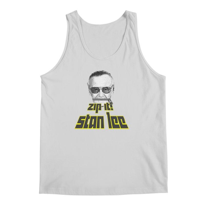 Zip it Stan Lee Men's Regular Tank by Loganferret's Artist Shop