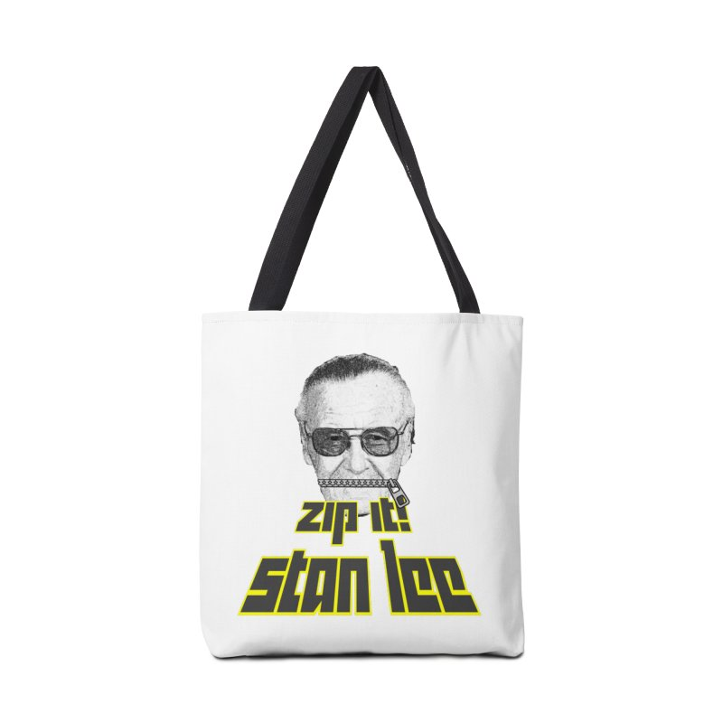 Zip it Stan Lee Accessories Bag by Loganferret's Artist Shop