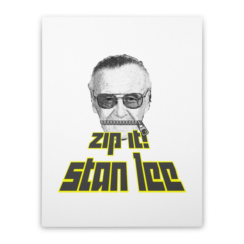Zip it Stan Lee Home  by Loganferret's Artist Shop