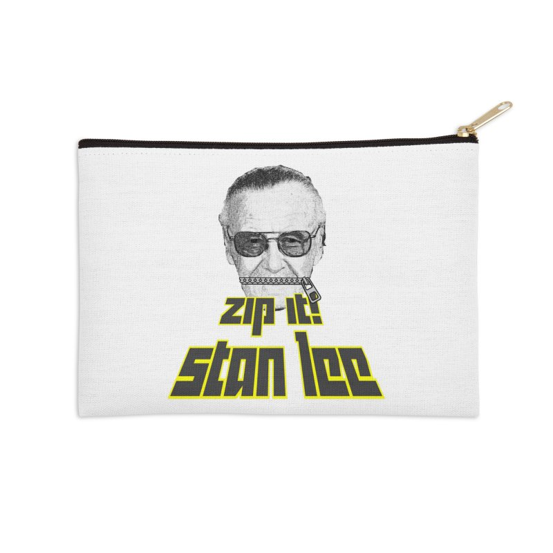 Zip it Stan Lee Accessories Zip Pouch by Loganferret's Artist Shop
