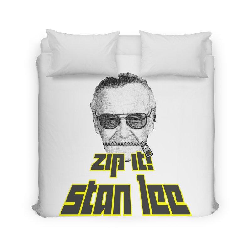 Zip it Stan Lee Home Duvet by Loganferret's Artist Shop