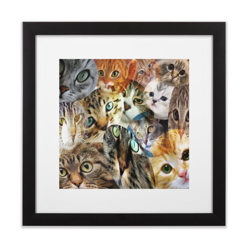 For the Love of Cats Home Framed Fine Art Print by Loganferret's Artist Shop