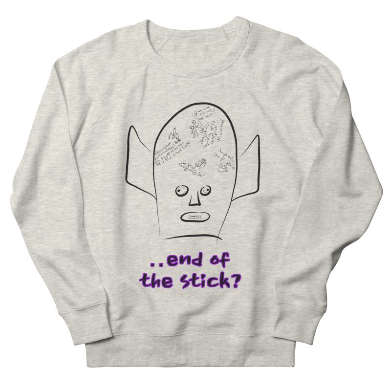 What's on the end of the stick Vic? Women's Sweatshirt by Loganferret's Artist Shop