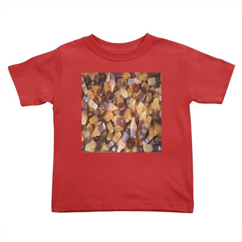 Cola Bottles Kids Toddler T-Shirt by Loganferret's Artist Shop