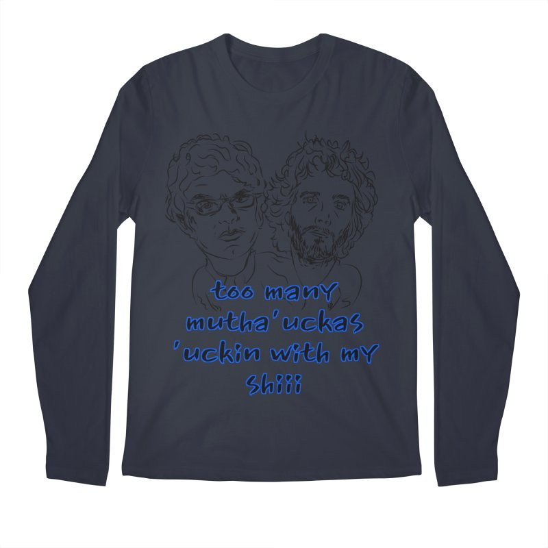 Mutha Ucka's Flight of the Conchords Men's Regular Longsleeve T-Shirt by Loganferret's Artist Shop