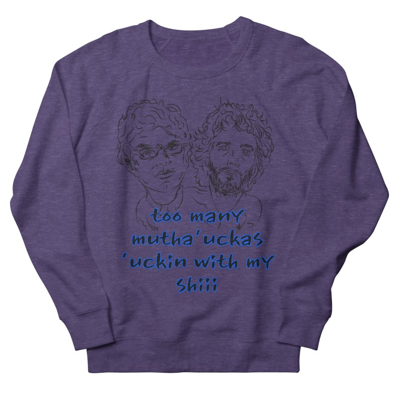 Mutha Ucka's Flight of the Conchords Men's Sweatshirt by Loganferret's Artist Shop