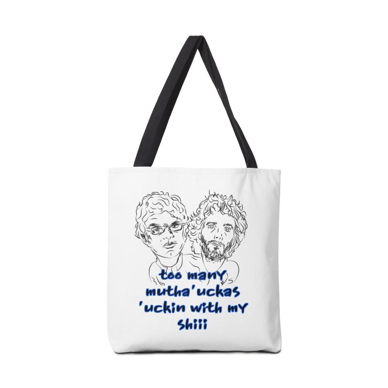 Mutha Ucka's Flight of the Conchords Accessories Bag by Loganferret's Artist Shop