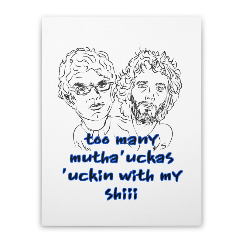 Mutha Ucka's Flight of the Conchords Home  by Loganferret's Artist Shop