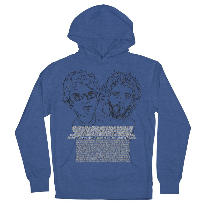Carol Brown Lyrics, Flight of the conchords Men's Pullover Hoody by Loganferret's Artist Shop