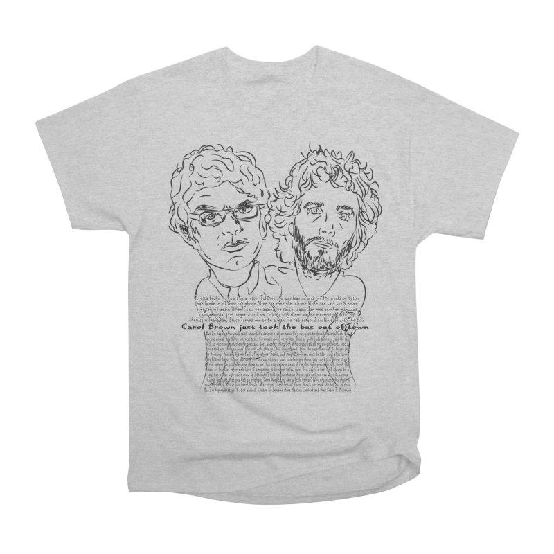 Carol Brown Lyrics, Flight of the conchords Men's Heavyweight T-Shirt by Loganferret's Artist Shop