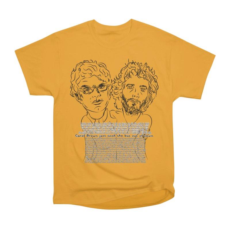 Carol Brown Lyrics, Flight of the conchords Men's Classic T-Shirt by Loganferret's Artist Shop