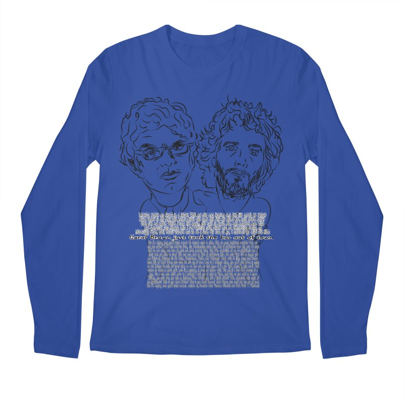 Carol Brown Lyrics, Flight of the conchords Men's Regular Longsleeve T-Shirt by Loganferret's Artist Shop