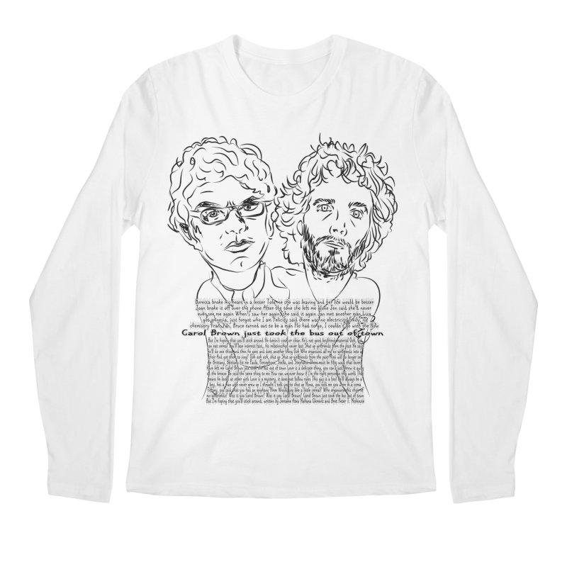 Carol Brown Lyrics, Flight of the conchords Men's Regular Longsleeve T-Shirt by Loganferret's Artist Shop