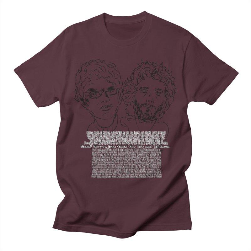 Carol Brown Lyrics, Flight of the conchords Men's T-Shirt by Loganferret's Artist Shop