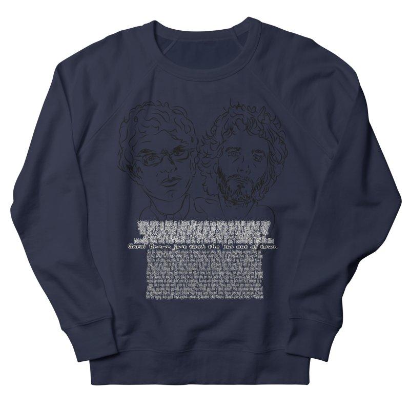 Carol Brown Lyrics, Flight of the conchords Women's French Terry Sweatshirt by Loganferret's Artist Shop