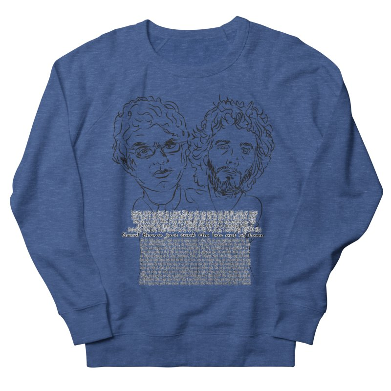 Carol Brown Lyrics, Flight of the conchords Men's Sweatshirt by Loganferret's Artist Shop