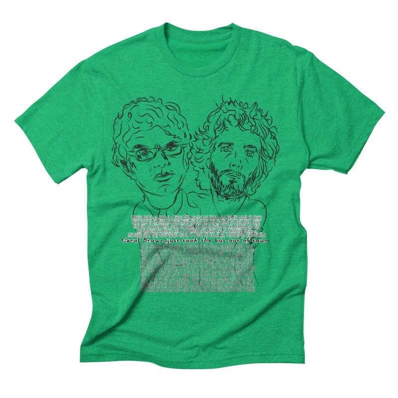 Carol Brown Lyrics, Flight of the conchords Men's Triblend T-Shirt by Loganferret's Artist Shop