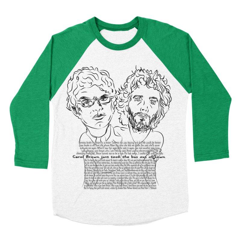 Carol Brown Lyrics, Flight of the conchords Men's Baseball Triblend T-Shirt by Loganferret's Artist Shop