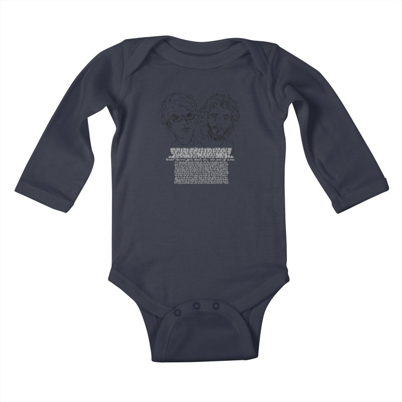 Carol Brown Lyrics, Flight of the conchords Kids Baby Longsleeve Bodysuit by Loganferret's Artist Shop