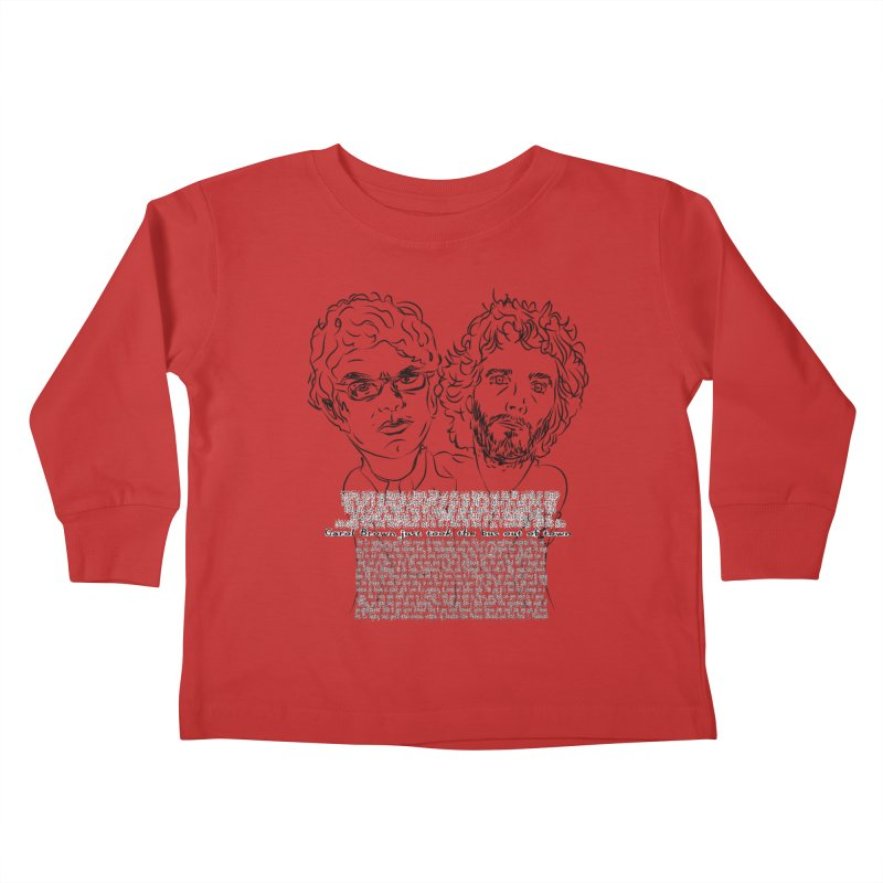 Carol Brown Lyrics, Flight of the conchords Kids Toddler Longsleeve T-Shirt by Loganferret's Artist Shop