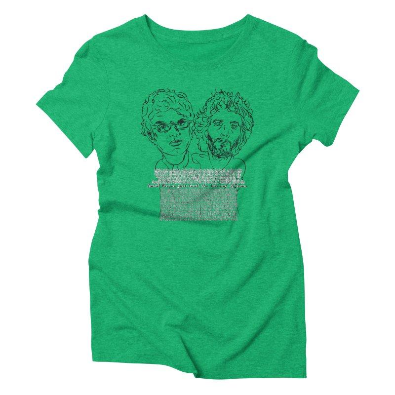 Carol Brown Lyrics, Flight of the conchords Women's Triblend T-shirt by Loganferret's Artist Shop