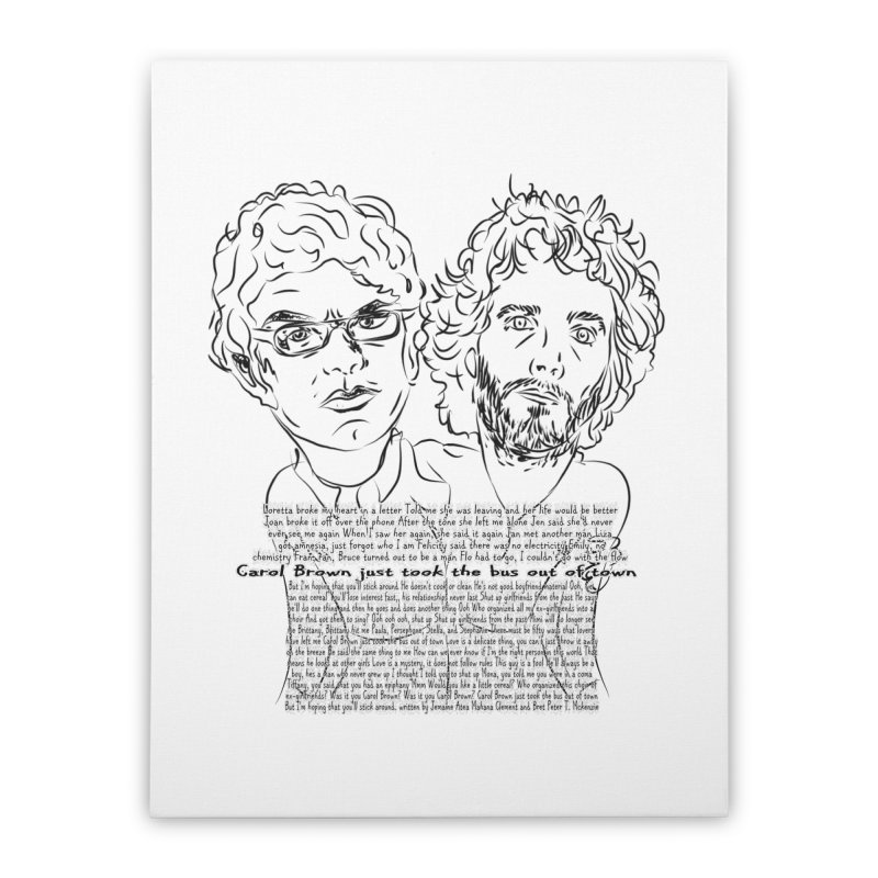Carol Brown Lyrics, Flight of the conchords Home  by Loganferret's Artist Shop