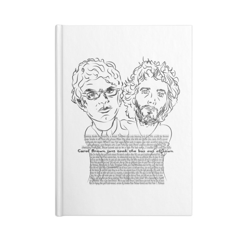 Carol Brown Lyrics, Flight of the conchords Accessories Notebook by Loganferret's Artist Shop