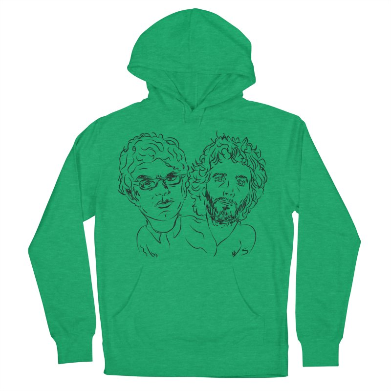 Bret Jermaine Flight of the Conchords Women's Pullover Hoody by Loganferret's Artist Shop