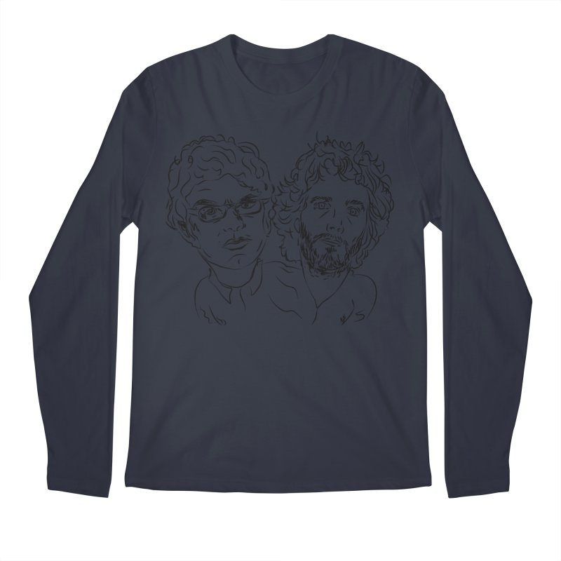 Bret Jermaine Flight of the Conchords Men's Longsleeve T-Shirt by Loganferret's Artist Shop