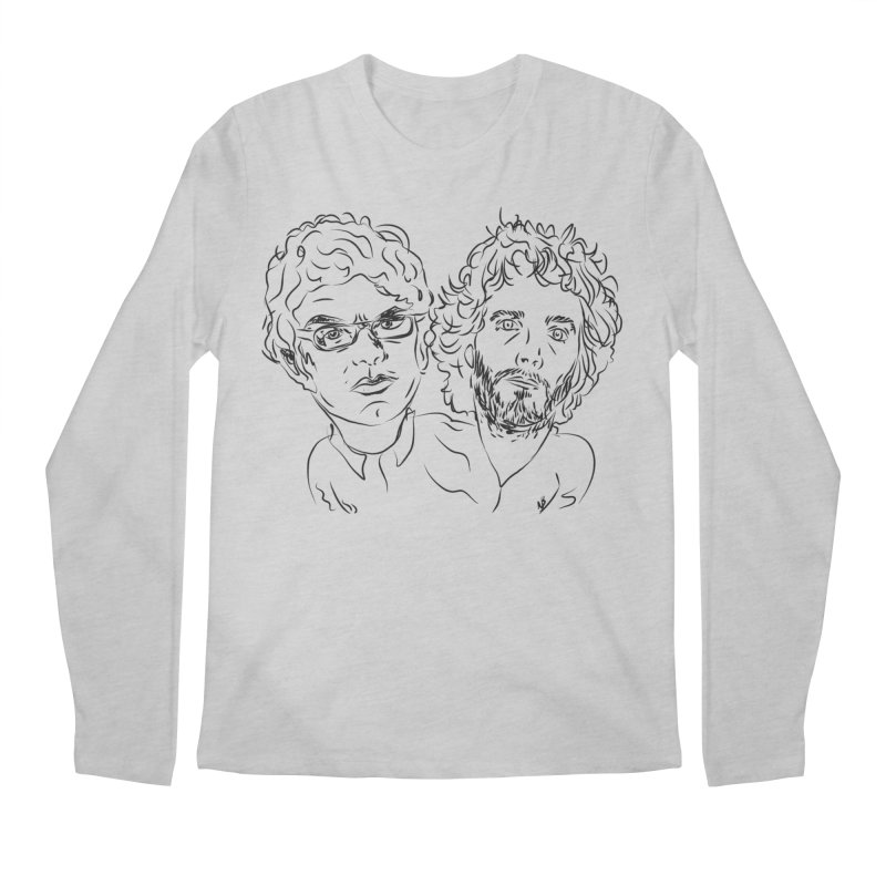 Bret Jermaine Flight of the Conchords Men's Regular Longsleeve T-Shirt by Loganferret's Artist Shop