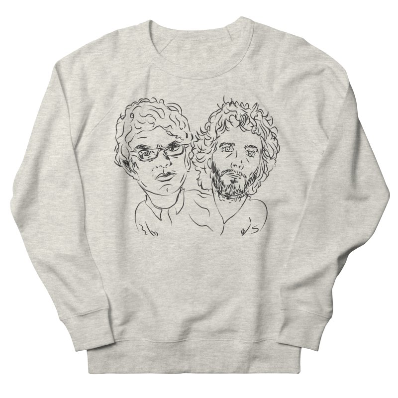 Bret Jermaine Flight of the Conchords Women's French Terry Sweatshirt by Loganferret's Artist Shop