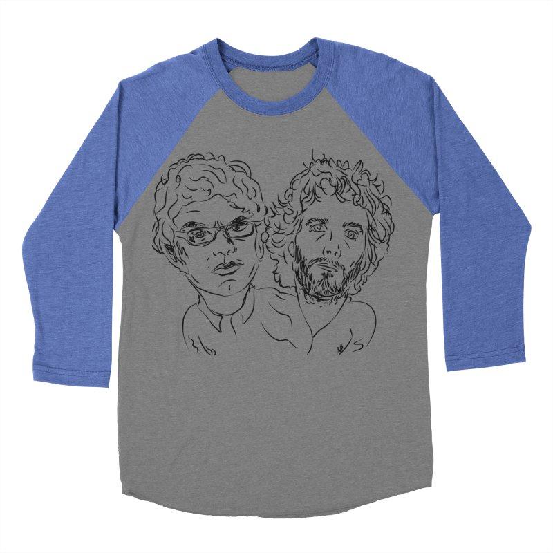 Bret Jermaine Flight of the Conchords Women's Baseball Triblend T-Shirt by Loganferret's Artist Shop