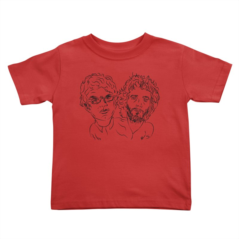 Bret Jermaine Flight of the Conchords Kids Toddler T-Shirt by Loganferret's Artist Shop