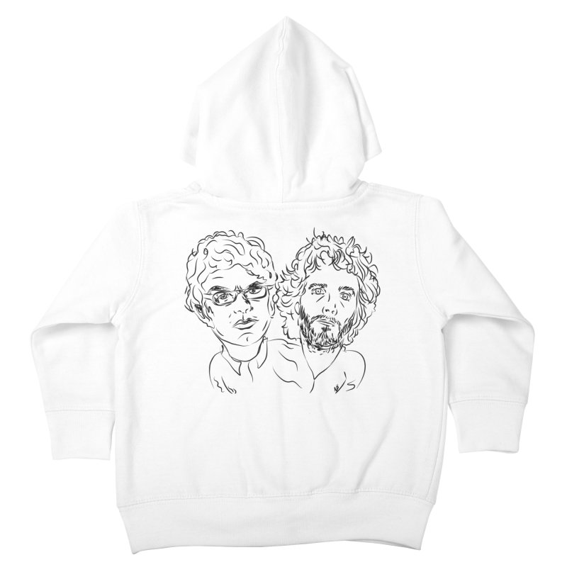Bret Jermaine Flight of the Conchords Kids Toddler Zip-Up Hoody by Loganferret's Artist Shop