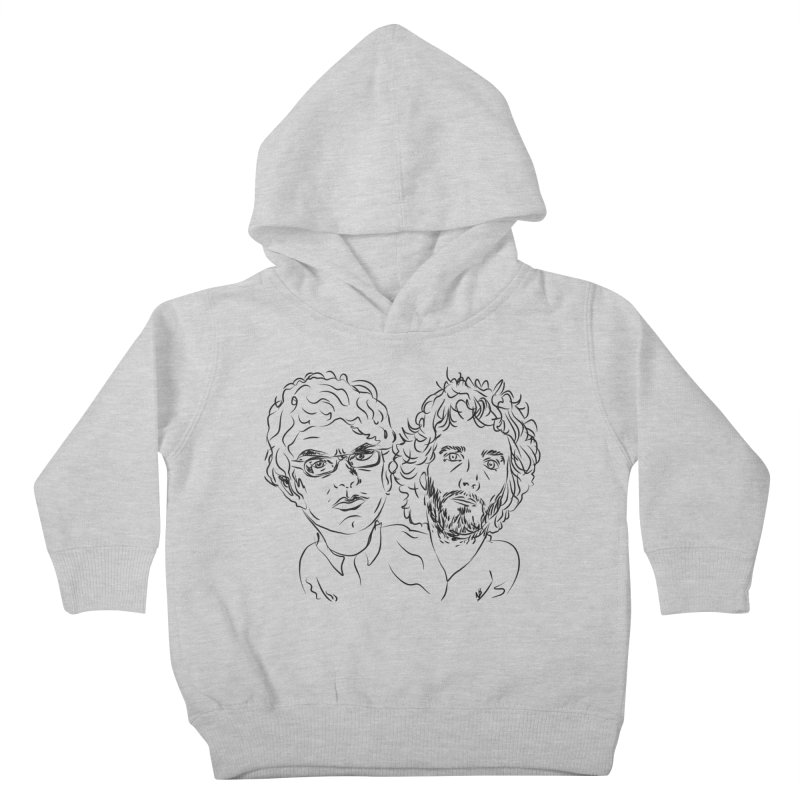 Bret Jermaine Flight of the Conchords Kids Toddler Pullover Hoody by Loganferret's Artist Shop